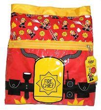 Promo Bugzz Kids Red Fire Chief School Boys Fireman Kit Bag Childrens Swim Bag
