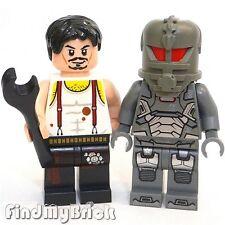 """BM038 Lego Super Heroes Custom Iron Man """" Mark I """" CUSTOM Tony Minifigure NEW"""