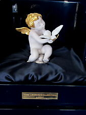 LLADRO #17903 PEACE BNIB BOY ANGEL DOVE LIMITED EDITION LEGEND COLLECTION GOLD