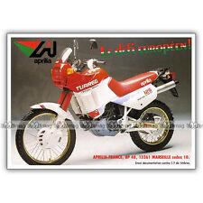 PUB APRILIA 125 TUAREG - Publicité Moto de 1988