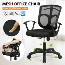 Office Chair Mesh Adjustable Executive Swivel Computer Desk Seat Fabric Back