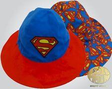 32926956593c1 New Dc Comics Superman Reversible Childs Bucket Hat Cap