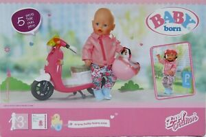 Baby Born Scooter Outfit Trousers, Top, Boots & Helmet BNIB