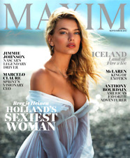 MAXIM Magazine September 2017 BREGJE HEINEN, Jimmie Johnson, Anthony Bourdain