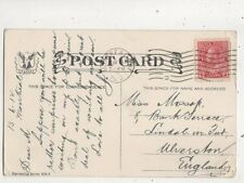Miss Mossop Bank Terrace Lindal In Furness Ulverston 1912 655b