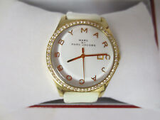 MARC JACOBS MBM1145 WOMENS LADIES WATCH WRIST WHITE DIAL LEATHER STRAP CUTE