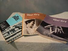 "VINTAGE  Rare Lot of 22   1970 - 1971 - 1972  ""War Cry"" Salvation Army Magazines"