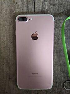 Apple iPhone 7 Plus - 256GB - Rose /pink (Unlocked) A1661 (CDMA + GSM)