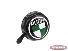 Klingel Schwarz mit Puch Logo in farbig