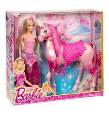 BARBIE Einhorn mit Puppe BJP46 im Geschenkset von Mattel. NEU in OVP!