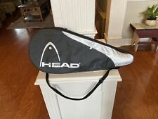 Head Liquidmetal Tennis Racquet Carrying Case Cover Black / Silver Used