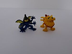 Digimon Kabuterimon & Saberleomon Bandai Mini Figure