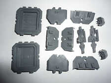 Warhammer 40k Space Marine Land Raider Side Sponson Weapon Mounts New & Unbuilt