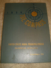 The Compass Yearbook, 1954 United States Naval Training Center, Bainbridge, MD