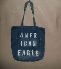 NWT American Eagle Women s Denim Tote Purse Shoulder Bag Travel School  Handbag a4543dae456c6