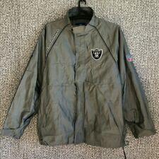 Los Angeles Raiders NFL Football Jersey Jacket Longsleeve Reebok Mens Size L-XL