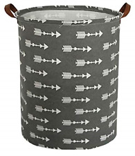 Large Storage Baskets Waterproof Laundry Collapsible Canvas Storage Bin for Kids