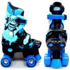Rollers et patins bleu enfant