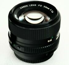 CANON FD 50mm f1.4 - lens made in Japan