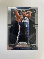 2019-20 Panini Prizm Basketball Zion Williamson Rookie Card RC #248! Sharp!
