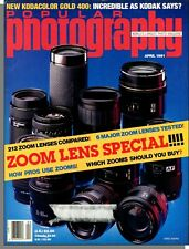 Popular Photography - 1991, April - Zoom Lens Special! How Pros Use Zooms