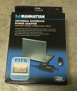 Manhattan Universal Notebook Power Adapter 100 W, 8 Output Levels