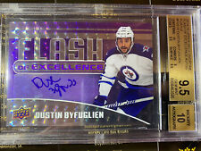 Dustin Byfuglien 14-15 Overtime Flash Of Excellence Autograph 1 of 1 S/N 1/1
