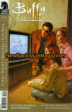 Buffy the Vampire Slayer Season 8 Comic 12/08,After These Messages We'll,NEW