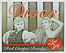 Black /& White Lucille Desiree Ball Movie Actress I Love Lucy Metal Picture Sign