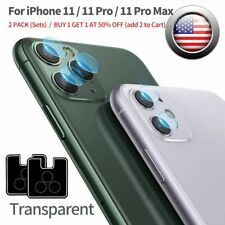 2Set Back Camera Lens Screen Protector Tempered Glass Film For iPhone 11 Pro Max