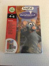 Leapfrog LeapPad Disney Pixar  Ratatouille Interactive Book & Cartridge Box Poor