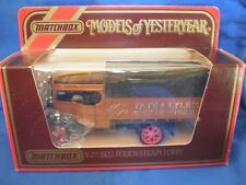 MATCHBOX MODELS OF YESTERYEAR Y-27 1922 FODEN STEAM LORRY - TATE & LYLE'S