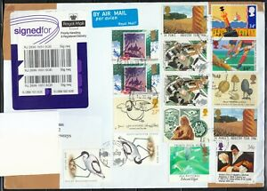 Great Britain 2010 cover sent to Lithuania. NICE FRANKING !!!