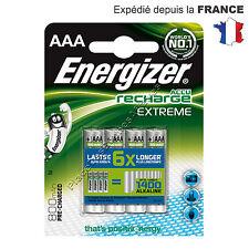Piles ENERGIZER ACCU RECHARGEABLE 800mAh Lot de 4 Neuve LR03 AAA Prix sacrifié !