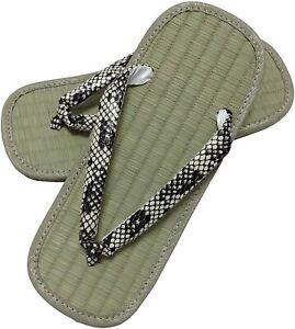 Edo-ten Setta Zori Japanese Sandals Igusa Tatami Rush Samurai Shoes 9 colors