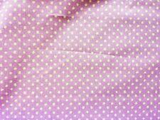 Dinky Dot Lilac Purple Fabric - Designer Curtain Craft Home - Per Half Metre