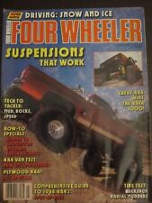 Four Wheeler Magazine March 1988 Suspensions That Work Driving Snow Ice (AT)