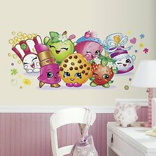 ROOMMATES SHOPKINS LARGE WALL DECAL APPLIQUES - PEEL & STICK, KIDS ROOM