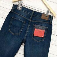 ⭐ Tommy Hilfiger Mercer regular fit straight leg dark blue denim jeans W31 L34