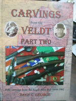 History Rifle Carvings from the Veldt Boer War NEW Book Vol 2 weapons relics