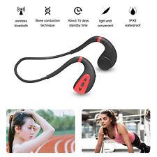 Wireless Bone Conduction Headphones Bluetooth Headset Waterproof Sport Earphones