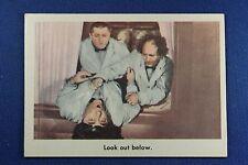 1959 Fleer - 3 Stooges - #24 Look out below. - Ex/Mt