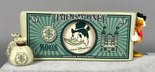 Scrooge McDuck Picture Frame - Time is Money - Tokyo Disney Sea NEW
