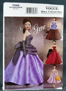 Vogue Pattern 7290 Gene Fashion Doll Clothes Pattern