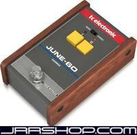 TC Electronic June-60 Juno Synthesizer Analog Stereo Chorus Pedal New JRR Shop