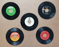 "Lot of 5   Rock Pop Soul Jazz (5) Records 7"" Single 45 rpm Jukebox"