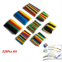 328Pc Insulation Shrinkable Tube Wrap Wire Cable Assorted Heat Shrink Tubing Kit