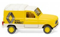 """#022503 - Wiking Renault R4 Kastenwagen """"Renault Service"""" - 1:87"""