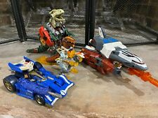 Transformers Armada, Energon, and Beast Machines Lot of 8 Figures.  NO RESERVE