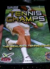 Tennis Champs PC GAME - FREE POST